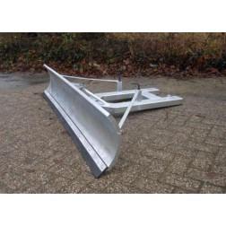 Sneeuwschuiver voor heftruck en shovel | links en rechts verstelbaar | Grote 150 tot 200 cm